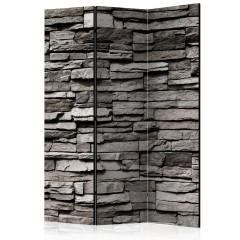 Artgeist 3-teiliges Paravent - Stony Facade [Room Dividers]