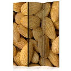 Artgeist 3-teiliges Paravent - Tasty almonds [Room Dividers]