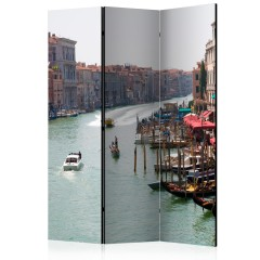 Artgeist 3-teiliges Paravent - The Grand Canal in Venice, Italy [Room Dividers]