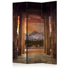 Artgeist 3-teiliges Paravent - Trail of Rocky Temples [Room Dividers]