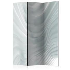 Artgeist 3-teiliges Paravent - Waving White [Room Dividers]