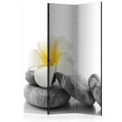 Artgeist 3-teiliges Paravent - White Lotus [Room Dividers]