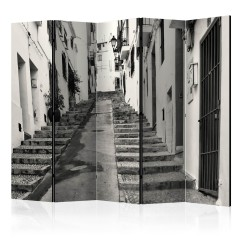 Artgeist 5-teiliges Paravent - Altea Old Town II [Room Dividers]