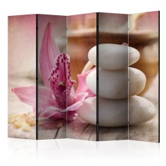Artgeist 5-teiliges Paravent - Aromatherapy II [Room Dividers]