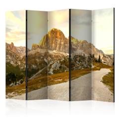 Artgeist 5-teiliges Paravent - Beautiful Dolomites II [Room Dividers]