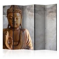 Artgeist 5-teiliges Paravent - Buddha II [Room Dividers]