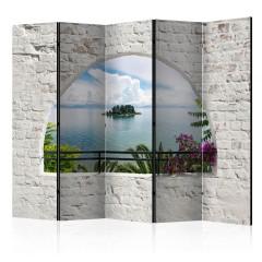 Artgeist 5-teiliges Paravent - Corfu Island II [Room Dividers]