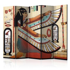 Artgeist 5-teiliges Paravent - Egyptian motif II [Room Dividers]