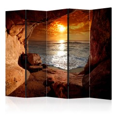 Artgeist 5-teiliges Paravent - Exit from the Cave II [Room Dividers]