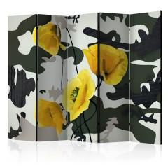 Artgeist 5-teiliges Paravent - Fresh Paint II [Room Dividers]
