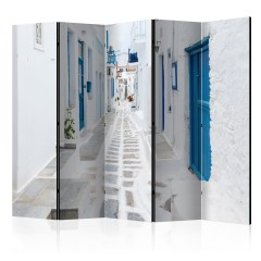 Artgeist 5-teiliges Paravent - Greek Dream Island II [Room Dividers]