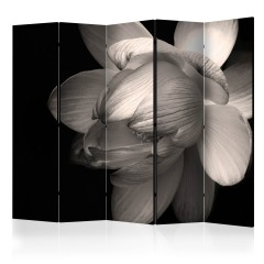 Artgeist 5-teiliges Paravent - Lotus flower II [Room Dividers]