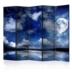 Artgeist 5-teiliges Paravent - Magic Night II [Room Dividers]