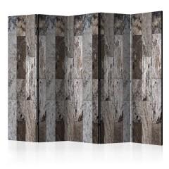 Artgeist 5-teiliges Paravent - Marble Mosaic II [Room Dividers]