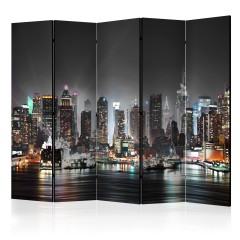 Artgeist 5-teiliges Paravent - New York II [Room Dividers]