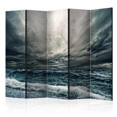 Artgeist 5-teiliges Paravent - Ocean waves II [Room Dividers]