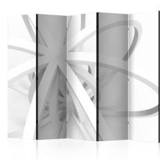 Artgeist 5-teiliges Paravent - Room divider – Openwork form II