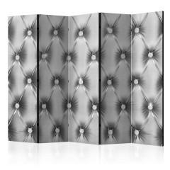 Artgeist 5-teiliges Paravent - Silver Luxury II [Room Dividers]