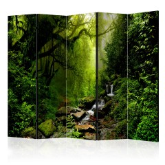 Artgeist 5-teiliges Paravent - The Fairytale Forest II [Room Dividers]
