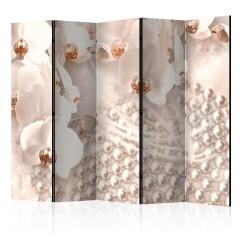 Artgeist 5-teiliges Paravent - Treasures of Elegance II [Room Dividers]