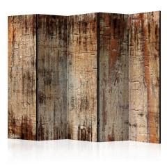Artgeist 5-teiliges Paravent - Tree Bark II [Room Dividers]