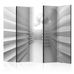 Basera® 5-teiliger Paravent, Raumteiler, Motiv a-B-0076-z-c
