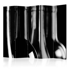 Artgeist 5-teiliges Paravent - Wine Bottles II [Room Dividers]
