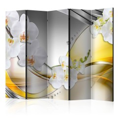 Basera® 5-teiliger Paravent, Raumteiler, Motiv a-C-0070-z-c