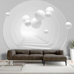 Selbstklebende Fototapete - 3D Tunnel