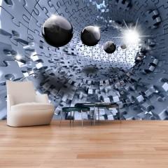 Selbstklebende Fototapete - Abstract Jigsaw