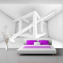 Basera® Selbstklebende Fototapete 3D-Motiv f-A-0097-a-d, mit UV-Schutz