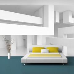 Selbstklebende Fototapete - Alabaster maze