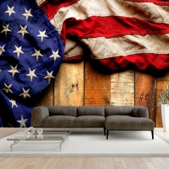 Selbstklebende Fototapete - American Style