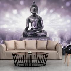 Selbstklebende Fototapete - Amethyst Buddha