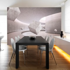 Basera® Selbstklebende Fototapete 3D-Motiv a-A-0169-a-c, mit UV-Schutz