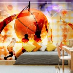 Basera® Selbstklebende Fototapete Sportmotiv i-C-0001-a-b, mit UV-Schutz