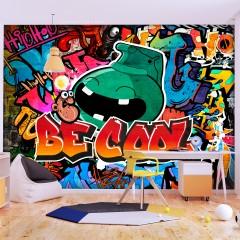 Basera® Selbstklebende Fototapete Street Art-Motiv m-A-0741-a-a, mit UV-Schutz