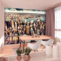 Basera® Selbstklebende Fototapete Motiv New York d-B-0186-a-a, mit UV-Schutz