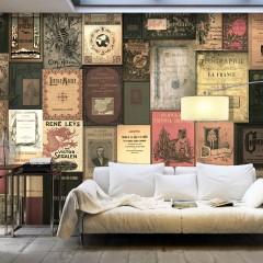 Selbstklebende Fototapete - Books of Paradise
