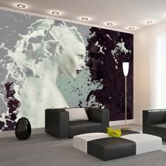 Basera® Selbstklebende Fototapete Menschenmotiv h-A-0050-a-a, mit UV-Schutz