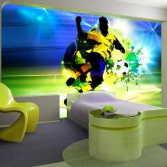 Basera® Selbstklebende Fototapete Sportmotiv i-C-0096-a-a, mit UV-Schutz