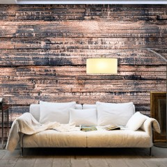 Selbstklebende Fototapete - Burnt Boards