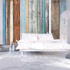 Basera® Selbstklebende Fototapete Holzmotiv f-A-0355-a-a, mit UV-Schutz