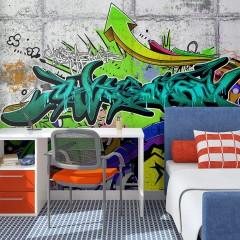 Basera® Selbstklebende Fototapete Street Art-Motiv f-A-0368-a-d, mit UV-Schutz