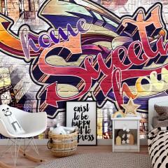 Basera® Selbstklebende Fototapete Street Art-Motiv m-A-0735-a-a, mit UV-Schutz