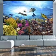 Basera® Selbstklebende Fototapete Meeresmotiv g-A-0093-a-a, mit UV-Schutz