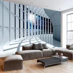 Basera® Selbstklebende Fototapete Architekturmotiv n-C-0007-a-c, mit UV-Schutz