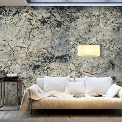 Selbstklebende Fototapete - Cracked Stone