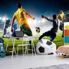 Basera® Selbstklebende Fototapete Sportmotiv i-B-0051-a-a, mit UV-Schutz