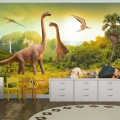 Selbstklebende Fototapete - Dinosaurier